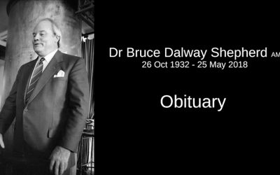 Dr Bruce Shepherd's Obituary