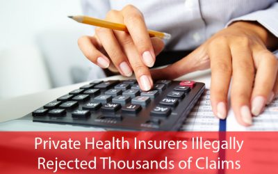 Australia's biggest private health insurers illegally rejected thousands of claims