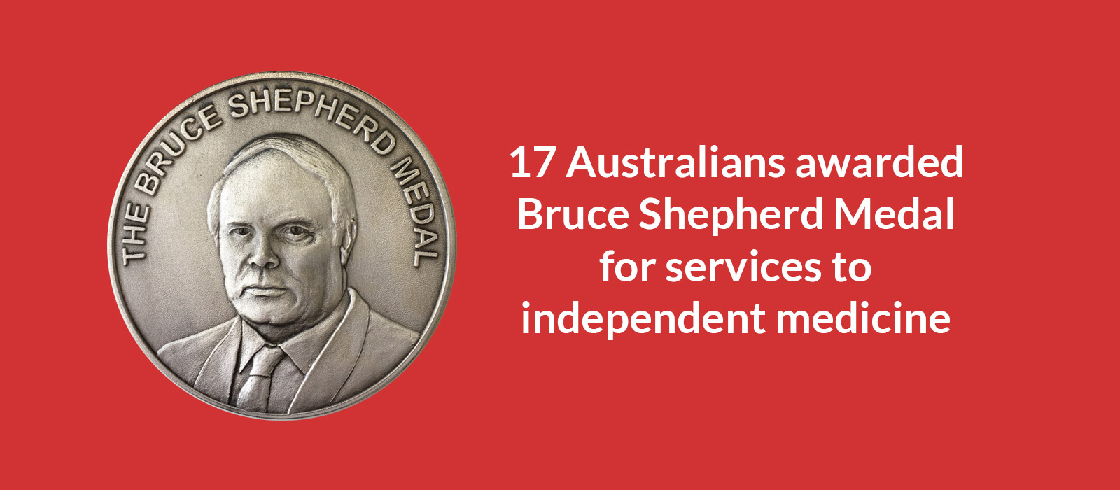 Bruce Shepherd medal Awarded