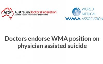 Doctors endorse WMA position on physician assisted suicide