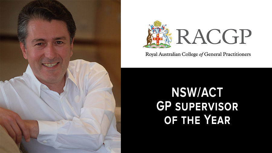RACGP Award Winner Dr Aniello Iannuzzi
